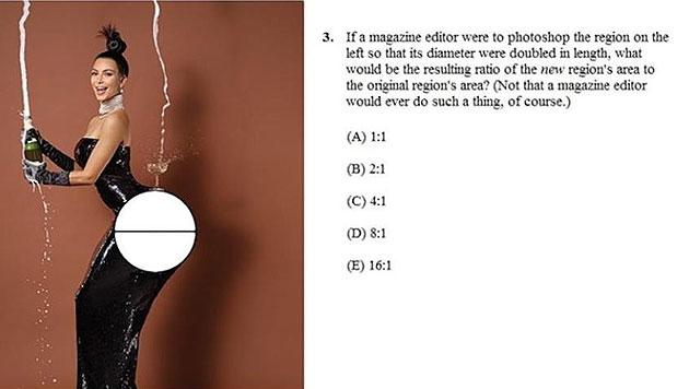 Der Kardashian-Po dient der Berechnung von Umfang, Winkel und Kreisfläche. (Bild: Catalyst)