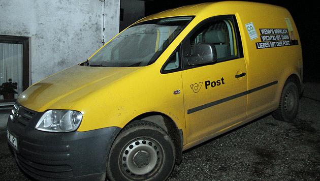 In diesem Postauto kam es zur Messerattacke. (Bild: Christoph Gantner)