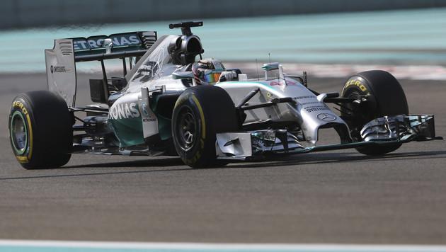 Rosberg-Taktik verpufft: Bestzeit für Hamilton (Bild: AP)