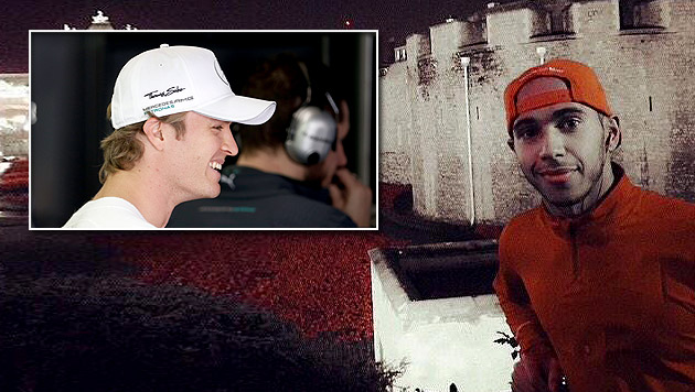 Twitter-Panne: Rosberg lacht Hamilton aus (Bild: Twitter, AP)
