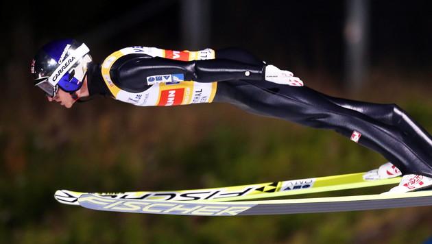 ÖSV-Adler enttäuschen mit achtem Platz (Bild: APA/EPA/GRZEGORZ MOMOT)