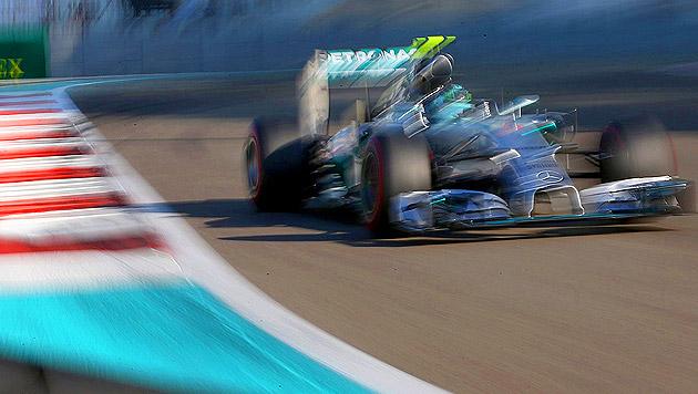 Rosberg nimmt WM-Showdown aus der Pole in Angriff (Bild: APA/EPA/ALI HAIDER)