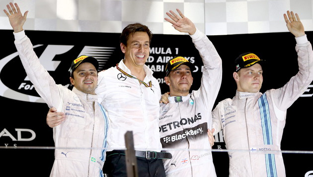 Lewis Hamilton ist Formel-1-Weltmeister (Bild: APA/EPA/SRDJAN SUKI)