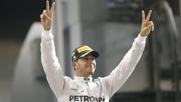 Lewis Hamilton ist Formel-1-Weltmeister (Bild: APA/EPA/VALDRIN XHEMAJ)