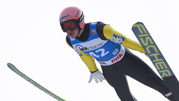 ÖSV-Adler Stefan Kraft Zweiter in Klingenthal (Bild: GEPA)