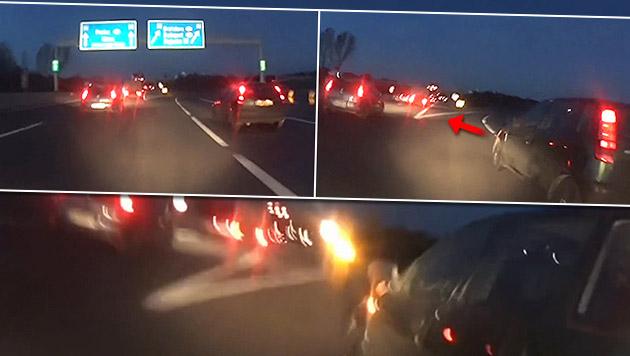 Flüchtiger Unfalllenker stellt sich der Polizei (Bild: YouTube.com)