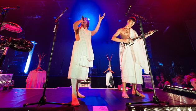 Mando Diao schockierten ihr treues Publikum (Bild: Andreas Graf)