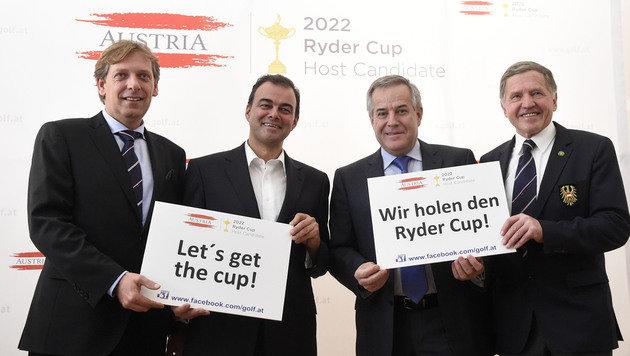 Österreich will den Ryder Cup 2022 veranstalten (Bild: APA/HELMUT FOHRINGER)