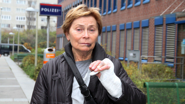 Raubopfer Helene K. ist enttäuscht. (Bild: ANDI SCHIEL)