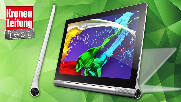 Yoga Tablet 2 Pro: Lenovos Beamer-Tablet im Test (Bild: Lenovo, thinkstockphotos.de, krone.at-Grafik)