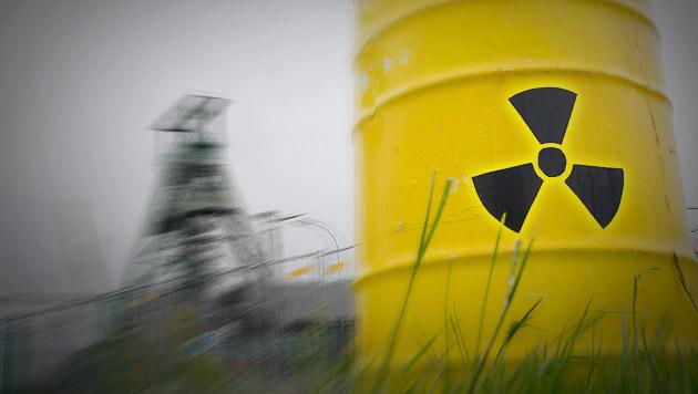 """Dieser """"Laser-Tentakel"""" zerschneidet Schrott-AKWs (Bild: JULIAN STRATENSCHULTE/EPA/picturedesk.com (Symbolbild))"""