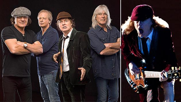 """AC/DC melden sich mit """"Rock Or Bust"""" laut zurück (Bild: jose_manuel_vidal, Sony Music)"""