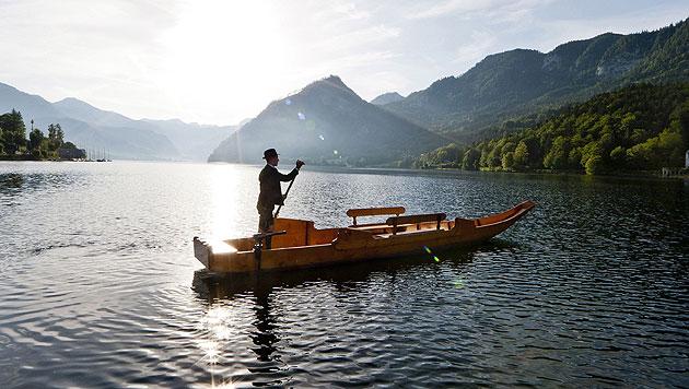 Planen die Bond-Macher eine Verfolgungsjagd mit Plätten-Booten? (Bild: Steiermark Tourismus)
