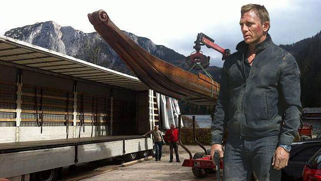 Bond-Dreh: 007 in geheimer Mission in Altaussee (Bild: Privat/Karen Ballard)
