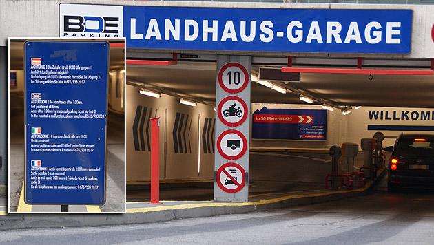In vier Sprachen wird auf dem Schild erklärt, was im Notfall zu tun ist - Hilfe gibt es aber keine. (Bild: Samuel Thurner)