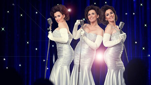 Barbara Karlich gibt's dreimal: als Beyonce, Jennifer Hudson und Anika Noni Rose in 'Dreamgirls'. (Bild: Manfred Baumann)