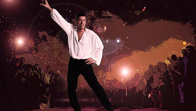 "Mat Schuh verwandelt sich in John Travolta: ""Saturday Night Fever"" lässt grüßen! (Bild: Manfred Baumann)"