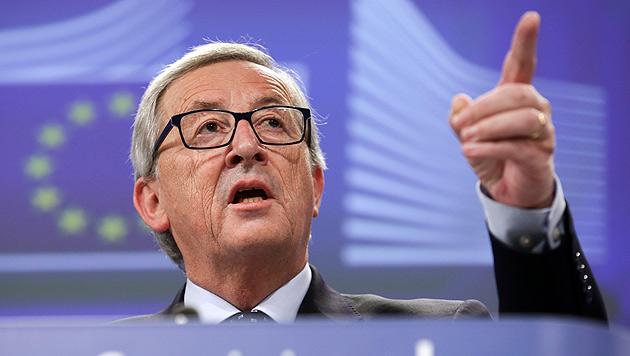 EU-Kommissionschef Jean-Claude Juncker (Bild: APA/EPA/OLIVIER HOSLET)