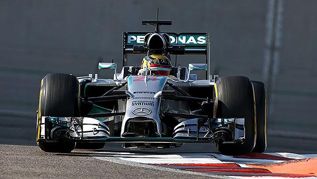 Pascal Wehrlein Schnellster bei Abu-Dhabi-Tests (Bild: GEPA)