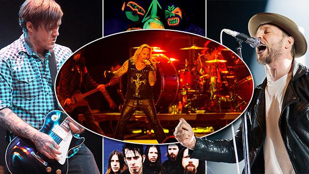 US-Legende Mötley Crüe beim Nova Rock zu Gast (Bild: APA/EPA, picturedesk.com, Universal Music, Musikladen, Graf)