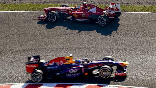 Vettel darf noch nicht in den Ferrari steigen! (Bild: APA/EPA/DIEGO AZUBEL)