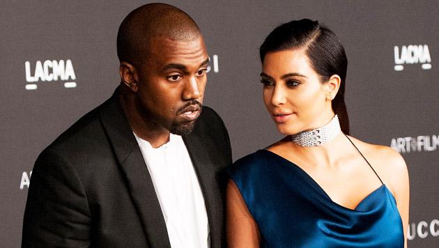 Kim Kardashian: Nacktfoto mit Ehemann Kanye (Bild: AFP)