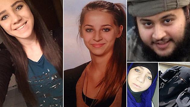 Wo der Dschihad in Österreich stattfindet (Bild: APA/EPA/INTERPOL / HANDOUT, siteintelgroup.com)