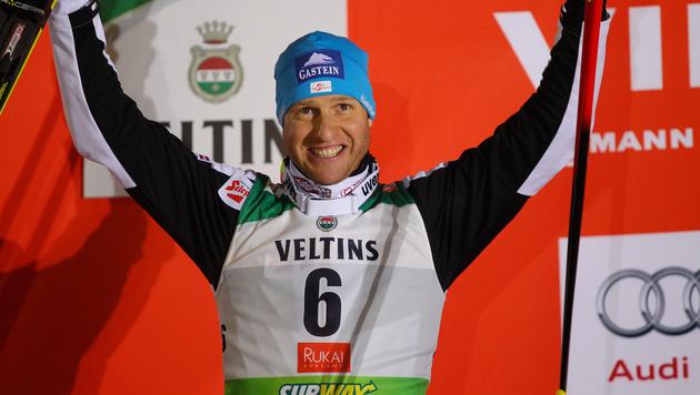 Bernhard Gruber: Platz zwei beim Saisonauftakt (Bild: GEPA)