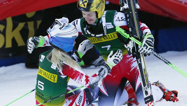 Brem vor Zettel! ÖSV-Doppelsieg in Aspen (Bild: AP)