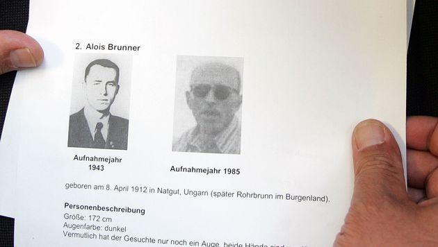 Alois Brunner 2009 oder 2010 gestorben (Bild: APA/HELMUT FOHRINGER)