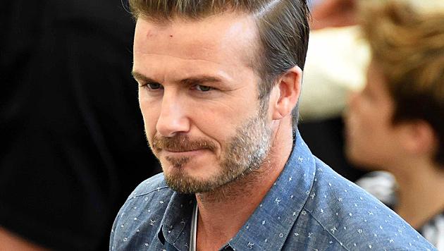 """David Beckham: """"Meine größte Angst ist, dass meinen Kindern etwas zustoßen könnte."""" (Bild: EPA)"""