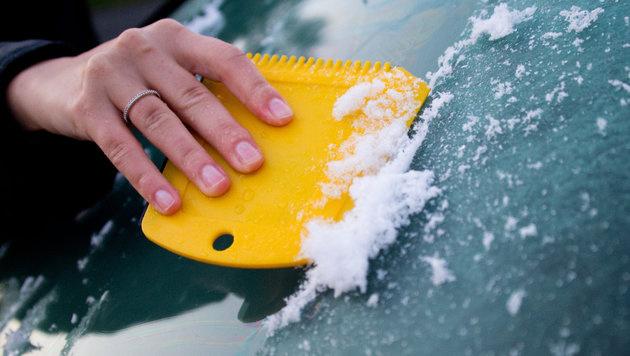 Der Winter schickt seine ersten Grüße (Bild: APA/dpa)