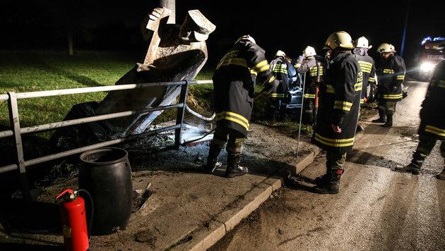 Heiligenstatue rettet Unfallopfer (18) das Leben (Bild: laumat.at/Matthias Lauber)