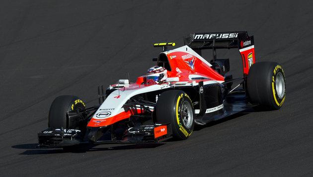 Marussia-Boliden werden versteigert! Ohne Motor (Bild: AP)