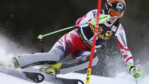 Niki Hosp mit Sensation! Triumph nach Wunderlauf (Bild: APA/EPA/GEORGE FREY)