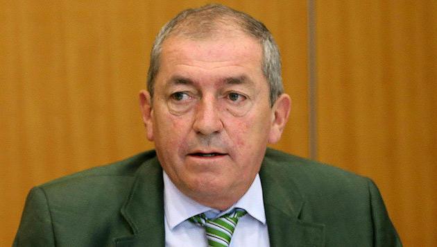 """Salzburgs Bürgermeister Heinz Schaden sagte im """"Costa Concordia""""-Prozess in Italien aus. (Bild: APA/FRANZ NEUMAYR)"""