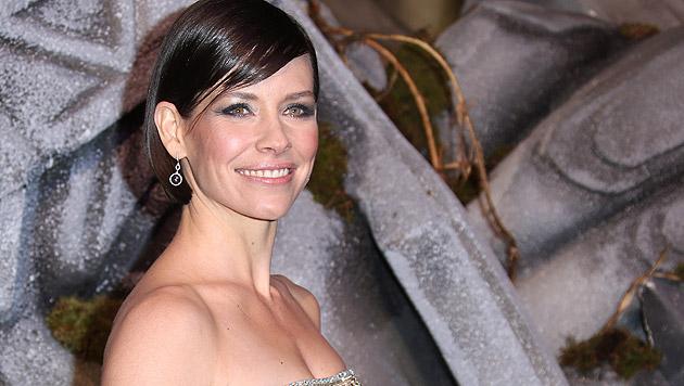 """Evangeline Lilly mimt im """"Hobbit"""" Tauriel. (Bild: AFP)"""
