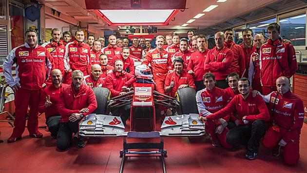 """Vettel: """"Vertraue am meisten meinem Po!"""" (Bild: twitter.com)"""