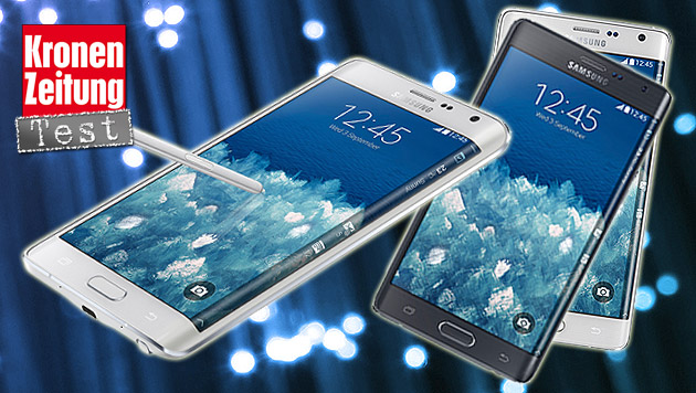 Galaxy Note Edge: Demonstration des Machbaren (Bild: Samsung, thinkstockphotos.de)