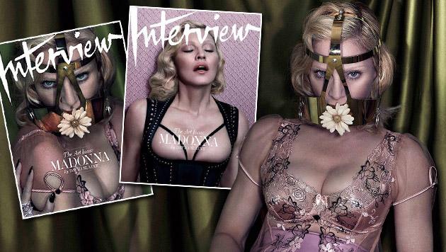 Madonna heuert eine Ernährungs-Polizistin an (Bild: twitter.com/madonna, krone.at-Grafik)