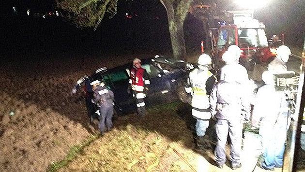 Für Katarzyna W. (48) kam nach dem Unfall jede Hilfe zu spät. (Bild: FF Statzendorf/FF Herzogenburg)