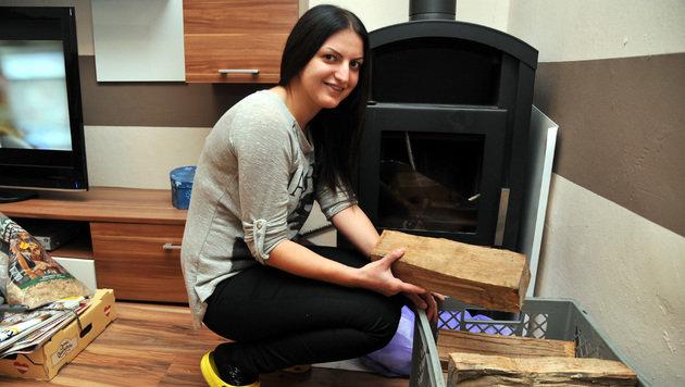 Andrijana Mitrovic (22) überlebte die Explosion unverletzt. (Bild: Klemens Fellner)