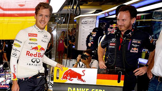 """""""Unglaublich!"""" Vettel nahm Abschied von Red Bull (Bild: GEPA)"""