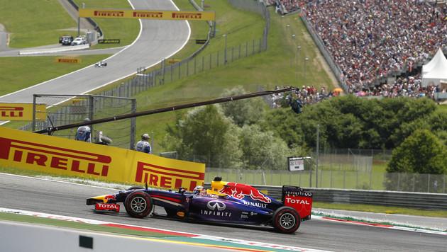 """Formel 1: """"Passables"""" Wetter in Spielberg erwartet (Bild: APA/ERWIN SCHERIAU)"""