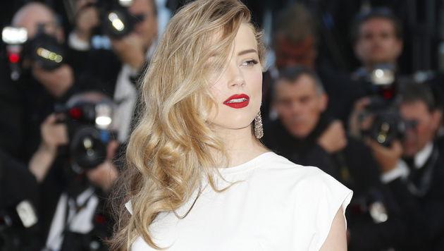 Bevor sich Amber Heard mit Johnny Depp verlobte, war sie vier Jahre mit Tasya van Ree liiert. (Bild: APA/EPA/GUILLAUME HORCAJUELO)