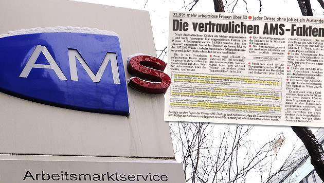 Echte AMS-Zahlen heizen Wiener Vorwahlkampf an (Bild: APA/ANDREAS PESSENLEHNER, Kronen Zeitung)