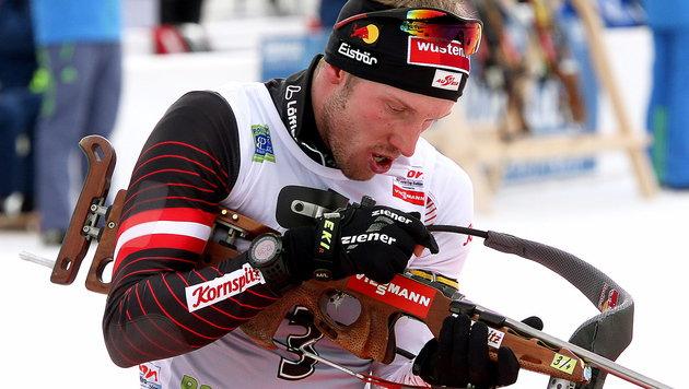 Landertinger bei Biathlon-Auftakt mit Top-Rennen (Bild: APA/EPA/ANTONIO BAT)