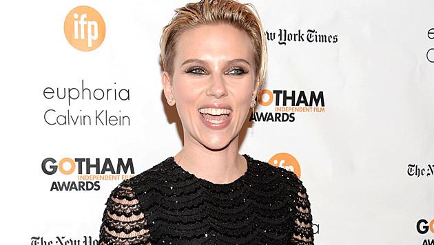 Scarlett Johansson ist gerne Mama. (Bild: Evan Agostini/Invision/AP)