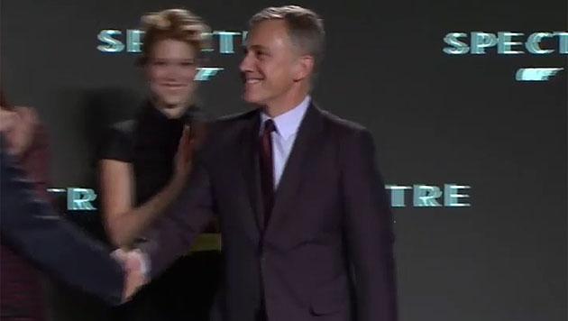 """Christoph Waltz wird als Castmember im Bond-Film """"Spectre"""" vorgestellt. (Bild: www.007.com)"""
