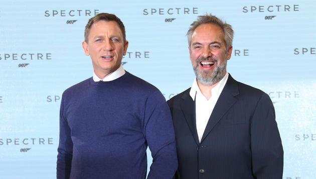Daniel Craig und Sam Mendes (Bild: AP)